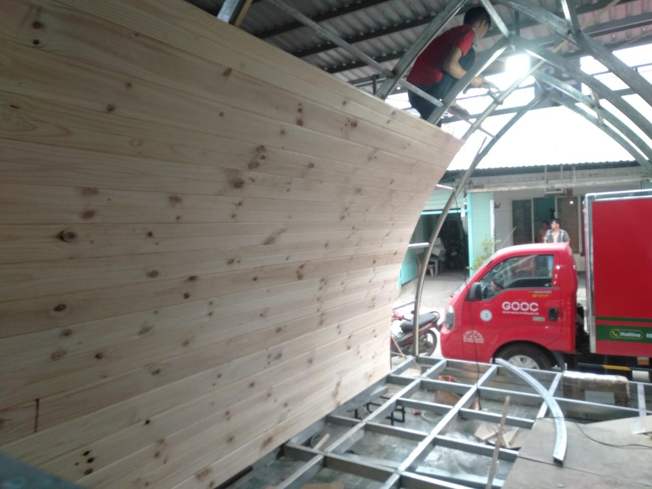 nhà gỗ di động